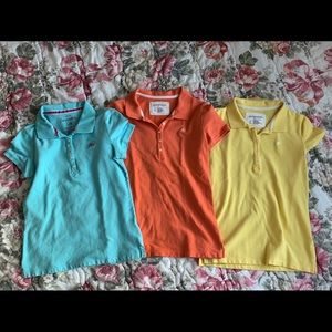 Three Aeropostale shirt, excellent condition.